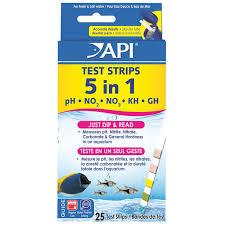 ph aquarium eau douce 5 in 1 aquarium test strips 25 strips that fish place