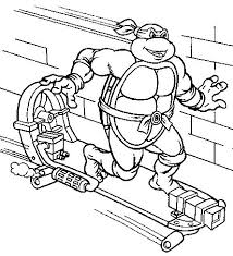Ninja Turtles Coloring Page