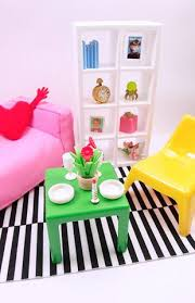 Barbie Fashion Living Room Set by Barbie And 12