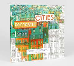 Product Image Steve McDonald Fantastic Cities A Coloring Book