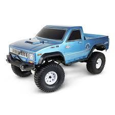 100 Rgt RGT Pioneer EX86110 110 24G 4WD Brushed Waterproof Offroad Climbing Rock Crawler Truck RC Car RTR Blue