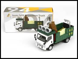 TINY HONG KONG CITY 94 Isuzu NPR Demolition Truck NEW DIECAST CAR ...