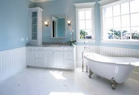Blue And Brown Bathroom Wall Decor by Accessories For Bathroom Design And Decoration Using Relax Soak