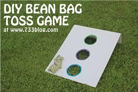 DIY Bean Bag Toss Game
