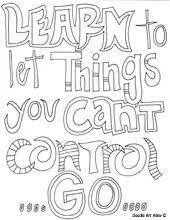 Free Printable Motivational Quotes Coloring Pages From Doodle Art Alley