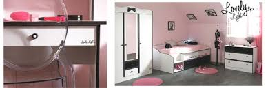 chambre pour ados chambre ado fille design et moderne meuble lit pour fille