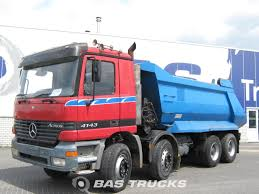 Mercedes Actros 4143 K Manual + Retarder Truck - BAS Trucks