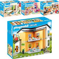 playmobil city 4er set 9266 9267 9270 9271 modernes