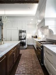 our 50 best craftsman brick floor kitchen ideas photos houzz