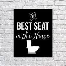 Funny Bathroom Art Etsy by Bathroom Art Print U0027what Happens In The Bathroom Stays U0027 Humor