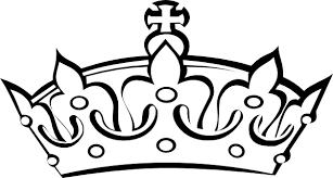 Princess crown clipart black and white clipartfest 4