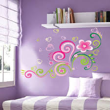 Wall Mural Decals Flowers by Multicolor Diy Wall Mural Decal Wall Stickers Flowers Home Office