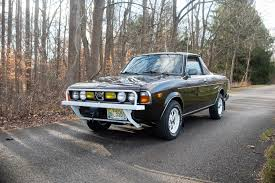 100 Subaru Pickup Trucks Someone Paid 46000 For This Mint 1978 BRAT