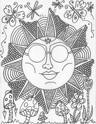 Hippie Custom Coloring Book Pages By DawnCollinsArt 1000