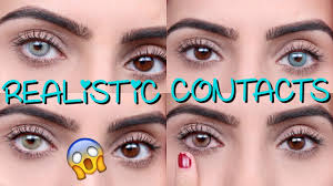 Theatrical Contacts No Prescription by Coloured Contacts For Dark Eyes Solotica Youtube