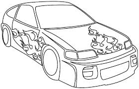 Full Image For Coloring Book Pages Of Race Cars Free Printable