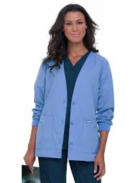 Ceil Blue Scrubs Amazon by Cardigan Scrub Jacket Cashmere Sweater England