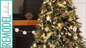 tree decorations ideas with ribbons tree decorating tutorial