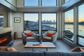 100 Seattle Penthouse Viewing The World From A Lakeside Penthouse West