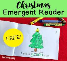 Christmas Tree Books For Kindergarten by Christmas Emergent Reader Totschooling Toddler Preschool