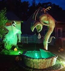 Nightmare Before Christmas Decorations by Nightmare Before Christmas Yard Decorations 2013 Youtube Nightmare