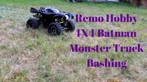 Remo Hobby Batman Monster Truck 4X4 Bashing - YouTube