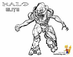 Halo Picture To Color Elite At YesColoring