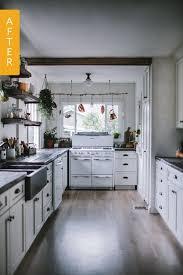 Before After A 1930s Kitchen Gets DIY Remodel Reader