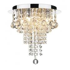 You Can Still Have A Jewel Inspired Ceiling Light With Shorter Drop One Of Our Favourites Is The Ruby Flush Chandelier Which Only Drops 30cm From