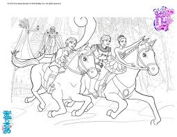 Prince Albertch With Hilarion Barbie Coloring Page More Ballerina Sheets On Hellokids