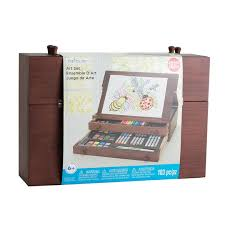 Michaels Canada Art Desk by Find The Wooden Art Set By Creatology At Michaels