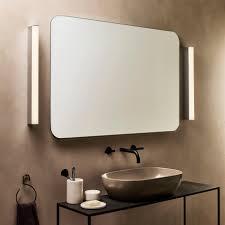 sparta 600 led bathroom wall l 12w chrome