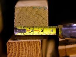 Menards Christmas Tree Bag by Home Depot Menards Accused Of Misrepresenting Lumber Size