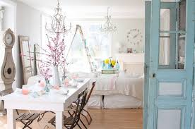 Shabby Chic Dining Room Table And Chairs by Shabby Chic Interior Design Style Small Design Ideas