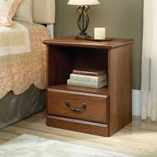 Sauder Shoal Creek Dresser In Jamocha Wood by Sauder End Table Milled Cherry Home Table Decoration