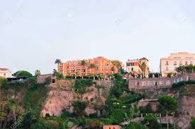 100 Houses In Sorrento At The Mountains In Amalfi Coast Italy