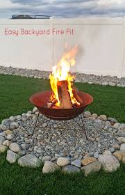 Easy Backyard Fire Pit {In Less Than 30 Minutes} - Kleinworth & Co Traastalcruisingcom Fire Pit Backyard Landscaping Cheap Ideas Garden The Most How To Build A Diy Howtos Home Decor To A With Bricks Amazing 66 And Outdoor Fireplace Network Blog Made Fabulous On Architecture Design With Cool 45 Awesome Easy On Budget Fres Hoom Classroom Desk Arrangements Pics Diy Building Area Lawrahetcom