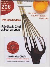 carte cadeau cours de cuisine carte cadeau l atelier des chefs le de blackhawk