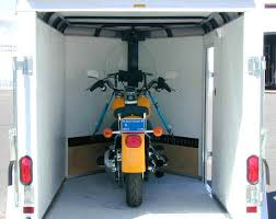 The Classic CVT V Nose Trailer Has Been Designed From Ground Up Specifically For Motorcycle Enthusiasts Ride In Strap Down And Go