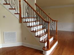 Staircase Installation NC | Renovation, Repair, Remodeling Are You Looking For A New Look Your Home But Dont Know Where Replace Banister Neauiccom Replacing Half Wall With Wrought Iron Balusters Angela East Remodelaholic Stair Renovation Using Existing Newel Fresh Best Railing Replacement 16843 Heath Stairworks Servicescomplete Removal Of Old Railing Staircase Remodel From Mc Trim Removal Carpet Home Design By Larizza Chaing Your Wood To On Fancy Stunning Styles 556