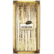 Foil Fringe Curtain Nz by Buy Gold Party Supplies Online At Build A Birthday Nz
