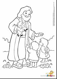 Wonderful Jesus And Child Coloring Page With Pages In Spanish