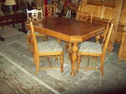 Antique Dining Table 4 Chairs 18542 – Amazingfindsanderson