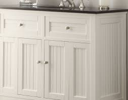 48 Bath Vanity Without Top by Bathroom Acceptable Shining 48 Antique White Bathroom Vanity