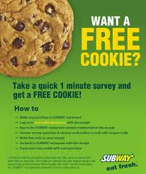 TellSubway】Subway Survey @ Www.tellsubway.com & Get Free Cookie Coupon Subway Singapore Guest Appreciation Day Buy 1 Get Free Promotion 2 Coupon Print Whosale Coupons Metro Sushi Deals San Diego Coupons On Phone Online Sale Dominos 1for1 Pizza And Other Promotions Aug 2019 Subway Usa Banners May 25 Off Quip Coupon Codes Top August Deals Redskins Joann Fabrics Text Canada December 2018 Michaels Naimo Deal Hungry Jacks Vouchers Valid Until Frugal Feeds Free 6 Sub With 30oz Drink Purchase Sign Up For