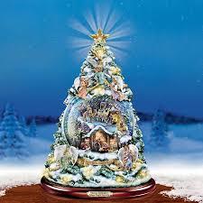 Thomas Kinkade Christmas Tree For Sale by Thomas Kinkade Christmas Tree