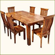 Solid Wood Dining Room Table Sets Cheap With Picture Of Design In