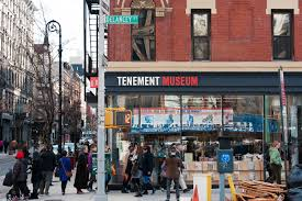 Delancey Street Christmas Trees Hours by The Tenement Museum