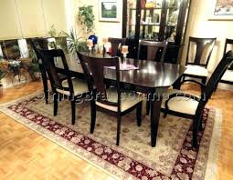Amazing Area Rugs For Dining Placement Of Rug Under Room Table 6x9