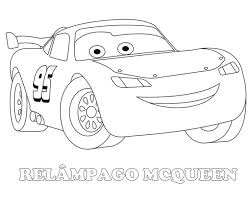 Draw Lightning Mcqueen Coloring Page 18 In Free Book With
